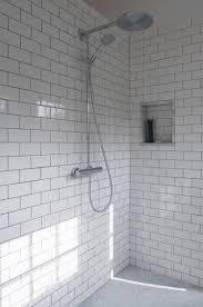 subway tile in bathroom ideas white subway tile shower ideas for sleek looking bathroom