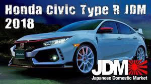 2018 honda civic type r jdm accessories range youtube