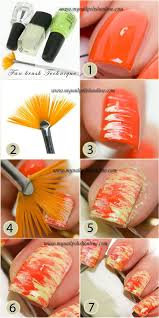 best 20 fan brush nails ideas on pinterest diy nail designs