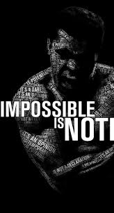 impossible is nothing muhammad ali wallpaper for iphone wallpaper