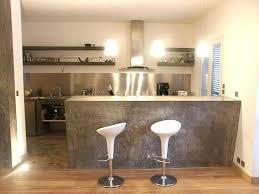 bar dans cuisine ouverte cuisine avec comptoir bar cuisine avec bar amacnagement cuisine