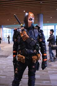 awesome deathstroke cosplay fanexpo vancouver 2014 spoilers