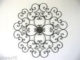 Faux Wrought Iron Wall Decor Wrought Iron Exterior Wall Decor Trendy Large Size Of Decor Art