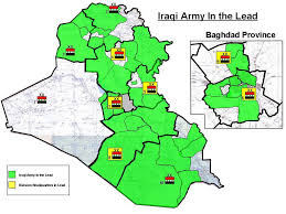 Iraq Province Map Us Hands Over Army Control In Iraq