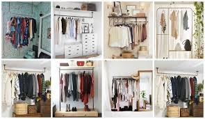 21 really inspiring makeshift closet designs for small spaces