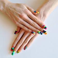 nail art history gets an u0027a u0027 from us culture designers