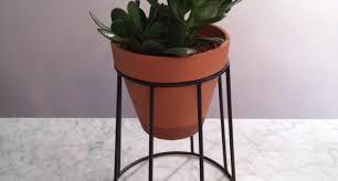 unique indoor planters plant mexican talavera pottery folk art wall planter blue