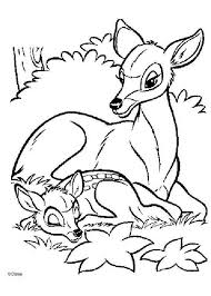 bambi 29 coloring pages hellokids