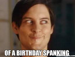 Spanking Meme - of a birthday spanking meme spiderman peter parker 33375 page 55