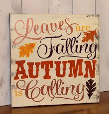 fall inspirational signs faux time design