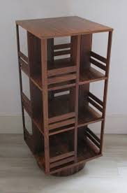 Revolving Bookcase Table Swedish Rosewood Revolving Bookcase 1960s For Sale At Pamono