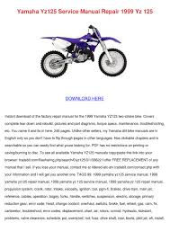 1999 yz 125 specs images reverse search