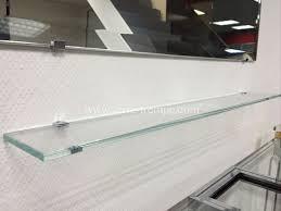 etagere en verre pour cuisine verre trempé clair sur mesure verre trempé sur mesure