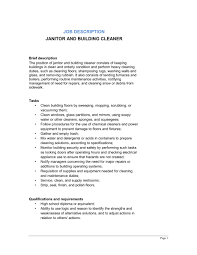 sample janitor resume janitorial resume samples housecleaners