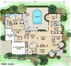 mediterranean mansion floor plans luxurious mediterranean mansion house plan villa visola first floor