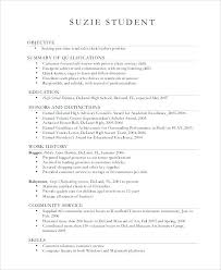 starter resume no experience resume examples high graduate no experience best images on