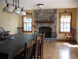 Dining Room With Fireplace by Interior Design Inspirative Fireplace Installation In Dining Room
