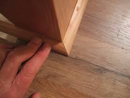How To Install T Moulding For Laminate Flooring How To Install Shoe Molding Or Quarter Round