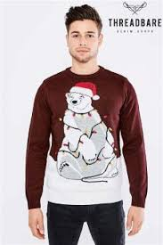 buy christmas sweater threadbare jumpers from the next uk online shop