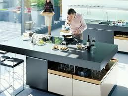 kitchen island 38 gray ceramics floor tile black stain wooden