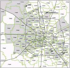 houston map with zip codes houston zip code map great templates travelquaz