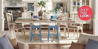 dining room table ideas beautiful coastal furniture decor ideas overstock