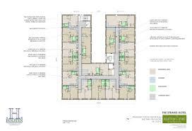 multi unit floor plans kaufman o u0027neil architecture projects multi family strand hotel