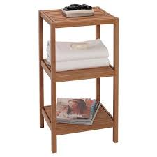 creative bath bamboo tower 14 u0027 u0027 w x 28 5 u0027 u0027 h bathroom shelf