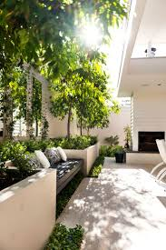 modern patio soft calming neutrals in the furnishings and great indoor outdoor