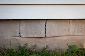 Block Basement Wall Repair by Foundation Repair Restoration Concrete