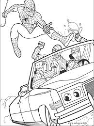 spiderman 19 spiderman printable coloring pages for kids