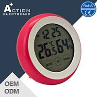 Clock For Bathroom Action Electronic Co Ltd Digital Clock Alarm Clock Lcd Clock