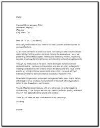 sample of cover letter