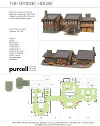 purcell timber frames prefabricated homes the bridge house