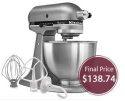 kitchenaid stand mixer black friday deals kitchenaid 4 5 quart stand mixer under 140 u0026 8212 price