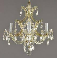 Marie Therese Crystal Chandelier Vintage Crystal Chandelier Ebay
