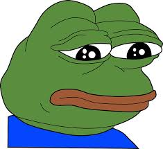 Sad Frog Meme - rare sad pepe frog meme print stickers by budgetnudest redbubble