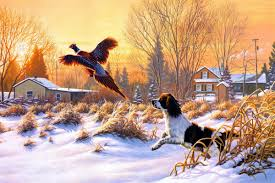 online buy wholesale hunting dogs art from china hunting dogs art