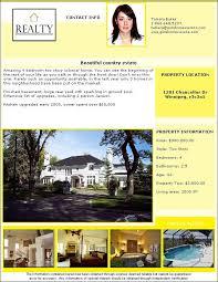 real estate flyer templates pdf format brochure templates
