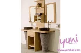 Bali Bathroom Furniture Bathroom And Pool Wb 10 Wooden Wastafel Bali Furniture Crafted