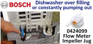 Bosch Dishwasher Pump Repair Bosch Dishwasher Keeps Emptying And Filling How To Diagnose The