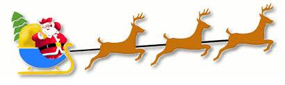 reindeer santa clipart explore pictures