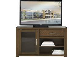 Furniture Of America Computer Desk Canyon Brown River Canyon Cherry 54 In Console Tv Consoles Dark Wood