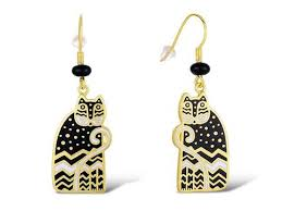 laurel burch earrings laurel burch gifts for cat my three cats co