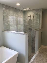 Half Shower Doors Glass Shower Enclosures And Doors What To Consider Before You Buy