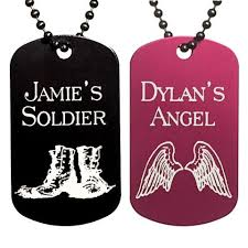 Dog Tag Necklace Custom Personalized Dog Tag Necklaces U2013 Love Chirp Gifts