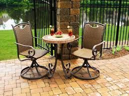 Patio Chair Set Of 2 by Dining Room Miraculous Cast Aluminum Outdoor Bistro Set Patio