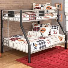 Metal Bunk Bed Frame Signature Design By Ashley Darren Twin Over Full Metal Bunk Bed