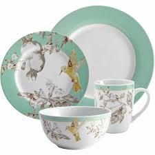 bonjour dinnerware fruitful nectar porcelain 16 set print