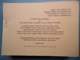 technical manual tm 9 1005 213 10 machine gun for sale